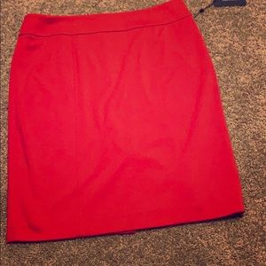 Pencil skirt fully lined
